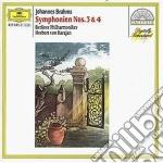 SINF. N. 3/4 KARAJAN cd musicale di Johannes Brahms