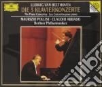 DIE 5 KLAVIERKONZERTE cd musicale di L.v. Beethoven