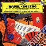 Ravel - Bolero/ma Mere - Boulez cd musicale di Maurice Ravel
