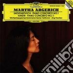 Shostakovich - Piano Concerto No.1 / Haydn - Piano Concerto No.11 - Argerich cd musicale di ARGERICH