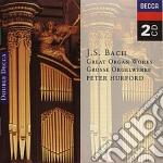 MUSICHE X ORGANO cd musicale di BACH JOHANN SEBASTIAN