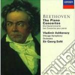 THE PIANO CONCERTOS/ASHKENAZY-SOLTI cd musicale di ASHKENAZY/SOLTI