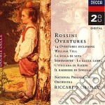 OUVERTURES cd musicale di Gioacchino Rossini