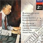 PIANO CONCERTOS 1-4/ASHKENAZY cd musicale di ASHKENAZY
