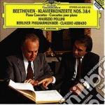 CONC. PF N. 3 E 4/POLLINI-ABBADO cd musicale di POLLINI/ABBADO