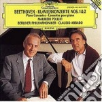 CONC.x PIANOF. 1&2/POLLINI cd musicale di POLLINI/ABBADO
