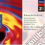 CONC. PF/VL. cd musicale di KHACIATURIAN