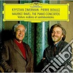 RAVEL: THE PIANO CONCERTOS cd musicale di BOULEZ
