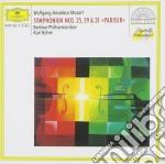 Mozart - Symphonies Nos.25,29&31 Pariser - Karl Bohm cd musicale di BOHM