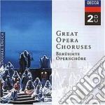 CORI D'OPERA                              cd musicale di GREAT OPERA CHORUSES