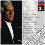 FAVOURITE PIANO SONATAS/ASHKENAZY cd musicale di ASHKENAZY