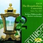 THE BRANDEBURRG CONCERTOS cd musicale di KARAJAN