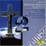 PASSIONE SEC. GIOVANNI/RICHTER cd musicale di Johann Sebastian Bach