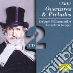 OUVERTURES E PRELUDI cd musicale di VERDI