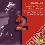 SINF. N. 4/5/6 cd musicale di TCHAIKOVSKY