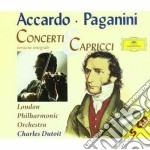 CONCERTI & CAPRICCI/ACCARDO cd musicale di ACCARDO