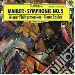 Mahler - Sinfonia N. 5 - Boulez cd musicale di BOULEZ