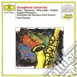 SAXOPHONE CONCERTOS cd musicale di ARTISTI VARI