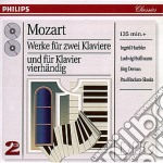 MUSIC FOR 2 PIANOS/PIANO DUETS cd musicale di HAEBLER