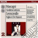CAVALLERIA cd musicale di MASCAGNI/LEONCAVALLO