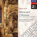 5 MASSES cd musicale di College King's