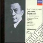 THE PIANO CONCERTOS cd musicale di ASHKENAZY