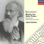 WORKS FOR SOLO PIANO cd musicale di BRAHMS
