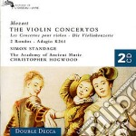 THE VIOLIN CONCERTOS cd musicale di HOGWOOD