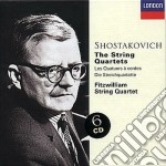 SHOSTAKOVICH-THE STRING QUARTET cd musicale di FITZWILLIAM