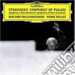 SYMPHONY OF PSALMS ETC. cd musicale di BOULEZ
