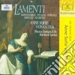 * LAMENTI                                 cd musicale di MONTEVERDI/VIVALDI