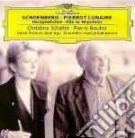 PIERROT LUNAIRE/ODE NAPOLEONE-BOULEZ cd musicale di SCHOENBERG