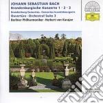 Bach - Brandenburg Concertos Nos.1-3 - Karajan cd musicale di KARAJAN HERBERT VON