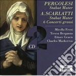 STABAT MATER                              cd musicale di PERGOLESI-SCARLATTI