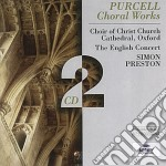 CHORAL WORKS cd musicale di PRESTON