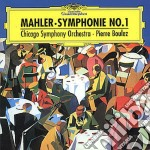 Mahler - Sinf. N. 1 - Boulez cd musicale di BOULEZ
