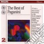 THE BEST OF PAGANINI cd musicale di Niccolo' Paganini