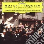 Mozart - Requiem - Abbado/bpo/mattila/mingardo cd musicale di Wolfgang Amadeus Mozart
