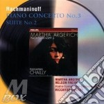 PIANO CONC. 3/SUITE 2                     cd musicale di ARGERICH