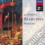 40 FAMOUS MARCHES/2CD cd musicale di ARTISTI VARI