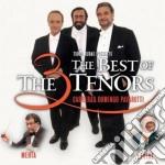 THE BEST OF THE 3 TENORS cd musicale di PAVAROTTI DOMINGO CARRERAS