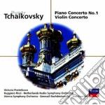 Tchaikovsky - Piano Concerto No.1 / Violin Concerto - Postnikova / Ricci cd musicale di Postnikova/ricci