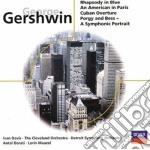 RHAPSODY IN BLUE/AN AMERICAN IN PARI cd musicale di George Gershwin