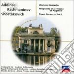WARSAW CONCERTO cd musicale di Ashkenazy