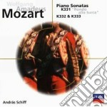 Mozart - Son. Pf K331/rondo - Schiff cd musicale di SCHIFF