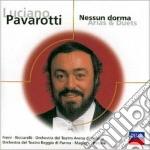 NESSUN DORMA (ARIE E CANZ.                cd musicale di PAVAROTTI