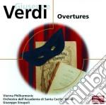 Verdi - Overtures - Sinopoli cd musicale di Sinopoli
