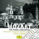 THE PIANO CONCERTOS(8CD) cd musicale di ANDA