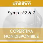 SYMP.N°2 & 7 cd musicale di BEETHOVEN