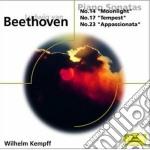 PIANO SONATAS cd musicale di Kempff